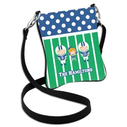 Football Cross Body Bag - 2 Sizes (Personalized)