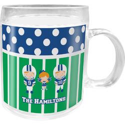 Football Acrylic Kids Mug (Personalized)