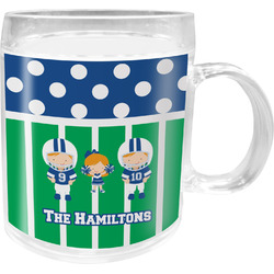 Football Acrylic Kids Mug (Personalized)