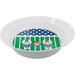 Football Melamine Bowl (Personalized)