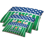 Football Dog Bed w/ Multiple Names