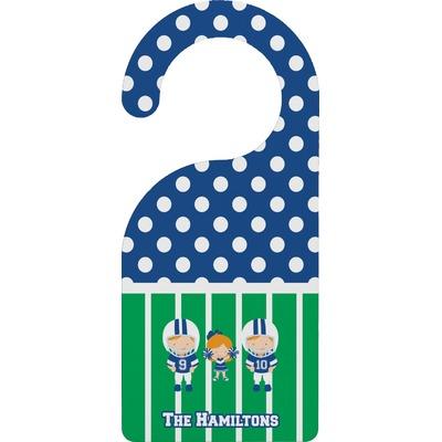 Football Door Hanger (Personalized)