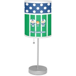 "Football 7"" Drum Lamp with Shade (Personalized)"