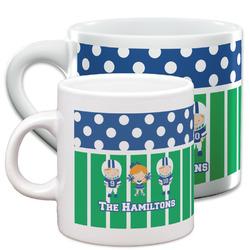 Football Espresso Cups (Personalized)