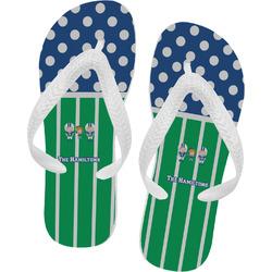 Football Flip Flops (Personalized)