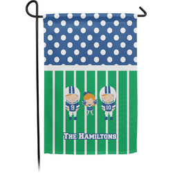 Football Garden Flag - Single or Double Sided (Personalized)