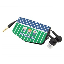 Football Genuine Leather Cord Wrap (Personalized)