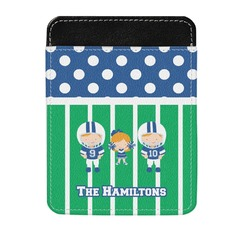 Football Genuine Leather Money Clip (Personalized)