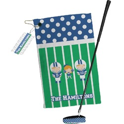 Football Golf Towel Gift Set (Personalized)