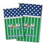 Football Golf Towel - Full Print w/ Multiple Names