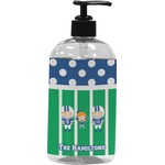 Football Plastic Soap / Lotion Dispenser (Personalized)