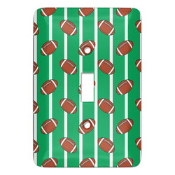 Football Light Switch Covers - Multiple Toggle Options Available (Personalized)