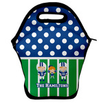Football Lunch Bag w/ Multiple Names