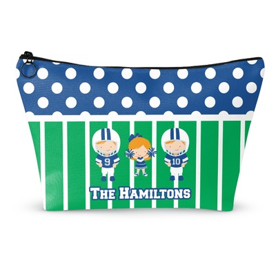 Football Makeup Bags (Personalized)