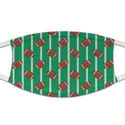 Football Cloth Face Mask (T-Shirt Fabric) (Personalized)