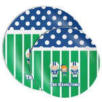 Football Melamine Plate (Personalized)