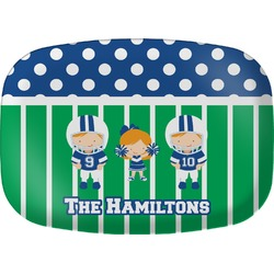 Football Melamine Platter (Personalized)