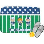 Football Memory Foam Bath Mat (Personalized)