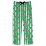 Football Mens Pajama Pants (Personalized)