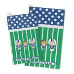 Football Microfiber Golf Towel (Personalized)