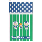 Football Microfiber Golf Towel - Large (Personalized)