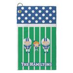 Football Microfiber Golf Towel - Small (Personalized)