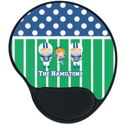 Football Mouse Pad with Wrist Support