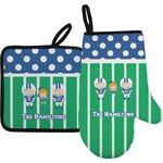 Football Oven Mitt & Pot Holder (Personalized)