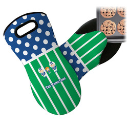 Football Neoprene Oven Mitt (Personalized)