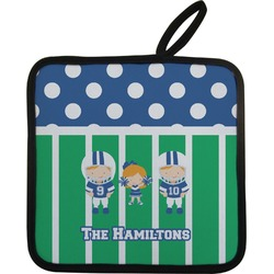 Football Pot Holder (Personalized)