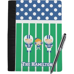 Football Notebook Padfolio (Personalized)