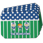 Football Dining Table Mat - Octagon w/ Multiple Names