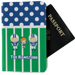 Football Passport Holder - Fabric (Personalized)