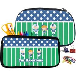 Football Pencil / School Supplies Bag (Personalized)