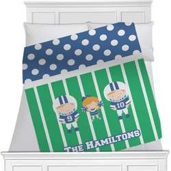 Football Blanket (Personalized)