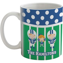 Football Coffee Mug (Personalized)