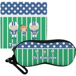 Football Eyeglass Case & Cloth (Personalized)