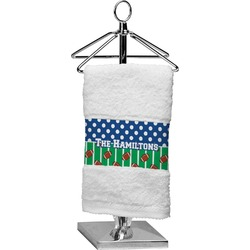 Football Finger Tip Towel (Personalized)