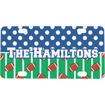 Football Mini / Bicycle License Plate (Personalized)
