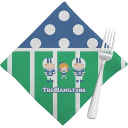 Football Cloth Napkins (Set of 4) (Personalized)