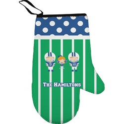 Football Oven Mitt (Personalized)