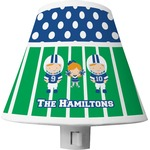 Football Shade Night Light (Personalized)