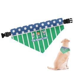 Football Dog Bandana (Personalized)