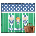 Football Outdoor Picnic Blanket (Personalized)