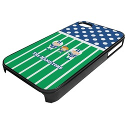 Football Plastic 4/4S iPhone Case (Personalized)