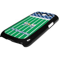 Football Plastic Samsung Galaxy 3 Phone Case (Personalized)