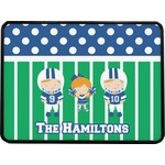 Football Rectangular Trailer Hitch Cover (Personalized)