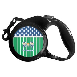Football Retractable Dog Leash (Personalized)