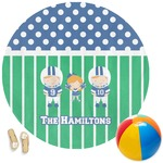 Football Round Beach Towel (Personalized)