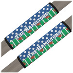 Football Seat Belt Covers (Set of 2) (Personalized)